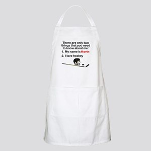 Two Things Hockey Apron